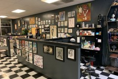Tattoo area of our shop